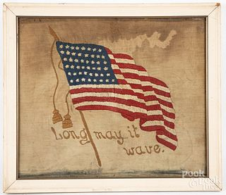 Group of patriotic items