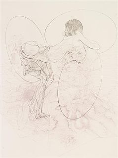 Hans Bellmer, (German, 1902-1975), Petit traite de morale, 1968 (portfolio of 10)