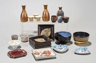 Group of Various Japanese Ceramics