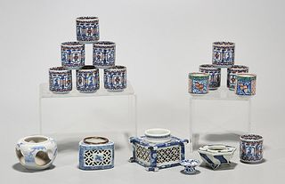 Group of Japanese Porcelain Cup Stands