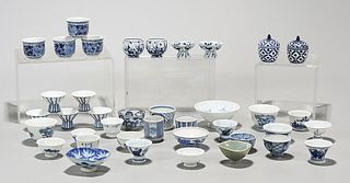 Large Group of Japanese Porcelain Vessels