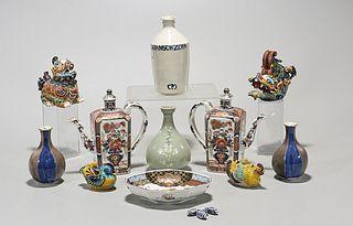 Large Group of Various Japanese Ceramics