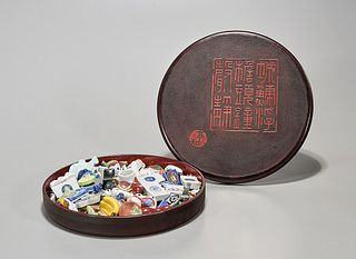 Large Collection of Japanese Ceramic Souvenirs