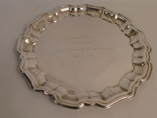 BOARDMAN 14 INCH STERLING TRAY