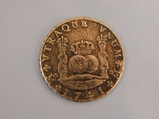 1741 SPANISH REALE COIN