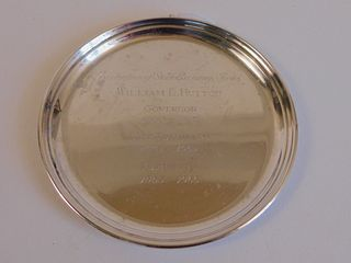 HUTTON STERLING SILVER TRAY