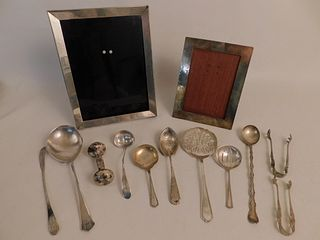 SILVER LOT INCLUDING TIFFANY FRAME