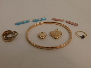 ASSORTED 14K GOLD JEWELRY LOT