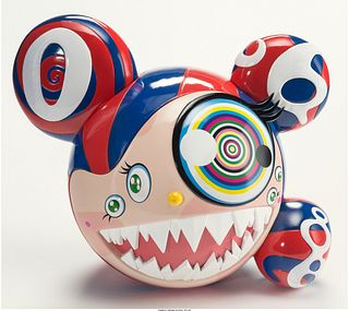 Mr Dob Red/Blue - Takashi Murakami