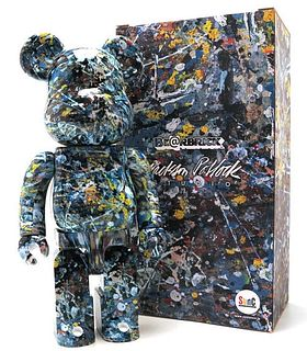 JACKSON POLLOCK 400% VERSION 1 - Bearbrick