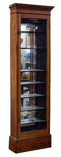 Fruitwood Display Cabinet