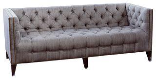 Marge Carson Tuxedo Sofa