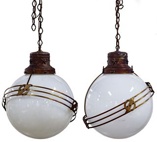 Art Deco Hanging Lamps