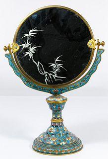 Cloisonne Vanity Mirror