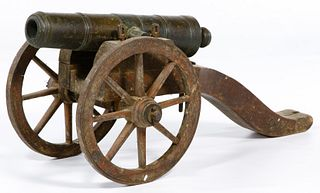 Bronze Toy Cannon