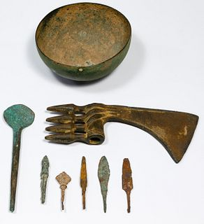 Luristan Style Bronze Assortment