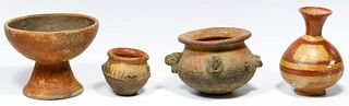 Pre-Columbian Narino Style Pottery Assortment