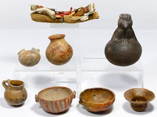 Pre-Columbian Style Pottery Assortment