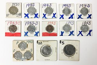 15 U.S. Coins