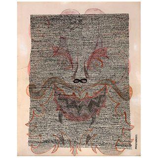 LOTE CON PRECIOS DE RECUPERACIÓN. PEDRO FRIEDEBERG. Sin título, 1955. Tinta y acuarela sobre papel. Con certidicado.