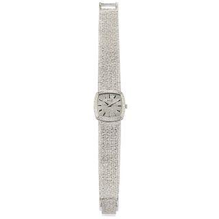 Piaget - A 18K white gold lady's wristwatch, Piaget