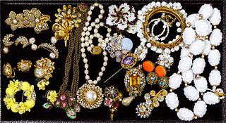 Miriam Haskell Rhinestone and Jewelry Assortment