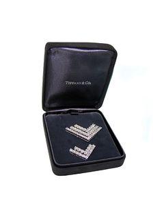 Tiffany & Co 8.95ct Chevron Brooches Retail$50,000