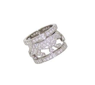 Cartier Mahango Panther Ring Retail $40,000