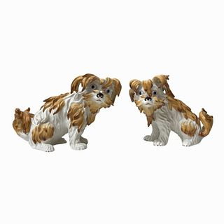 Mottahedeh Sir Humphrey Wakefield Porcelain Dogs