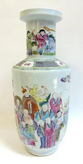 Porcelain Vase In Famille Rose