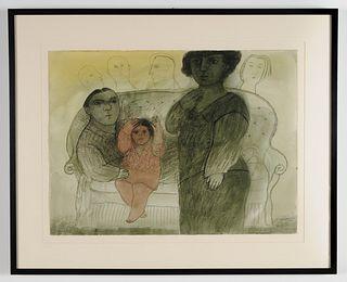 *Gonzalo Cienfuegos (Chile 1949)/ La familia