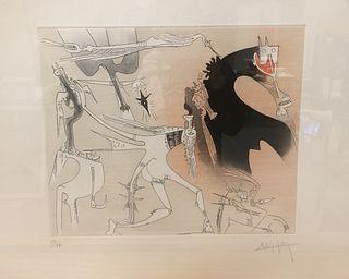 *Wifredo LAM (Cuba 1902-1982) / untitled