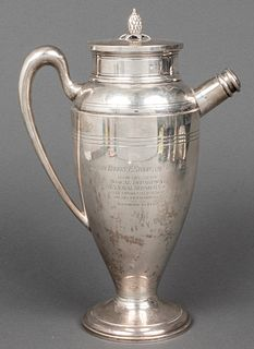 Redlich & Co. U.S. Navy Silver Presentation Urn