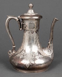 Tiffany & Co. Sterling Silver Coffee Pot