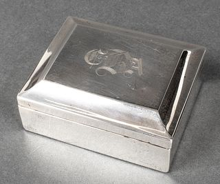 Gorham Sterling Silver Cigarette Box