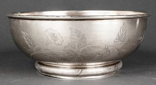 Gorham Sterling Silver Aesthetic Movement Bowl