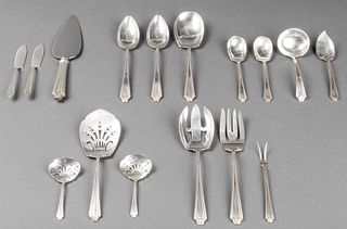 "Gorham ""King Albert"" Silver Serving Pieces, 16"
