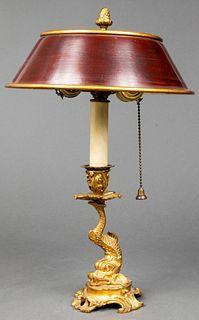 Louis XV Style Rococo Bouillotte Lamp
