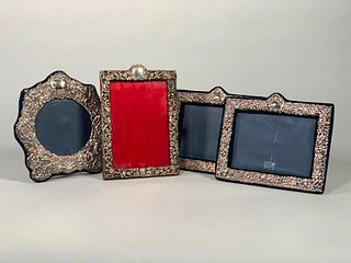 Four Sterling Silver Picture Frames