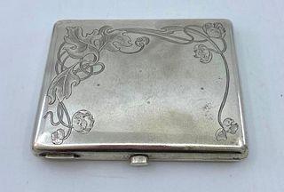 Russian Silver Cigarette Case, c.1900