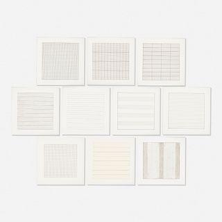 Agnes Martin, Paintings and Drawings: Stedelijk Museum Portfolio