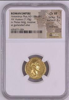 Antoninus Pius. Gold Aureus, as Caesar, AD 138. Rome