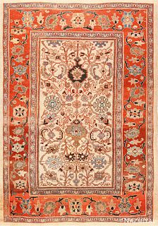 ANTIQUE PERSIAN SULTANABAD , 7 FT 10 IN X 10 FT 8 IN (2.39 M X 3.25 M)