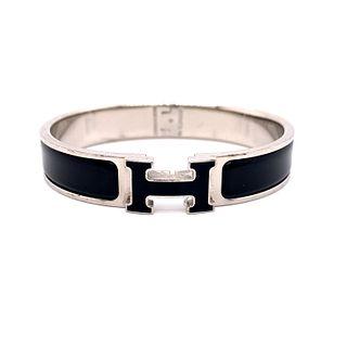 HERMES Black BraceletÊ