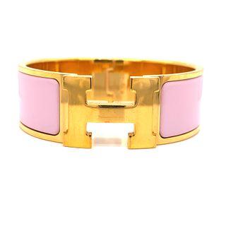 HERMES Pink Bracelet