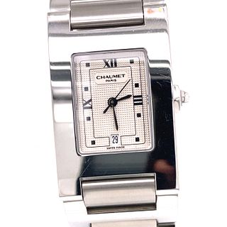 CHAUMET Stainless Steal Square WatchÊ