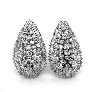 Platinum Diamond EarringsÊ