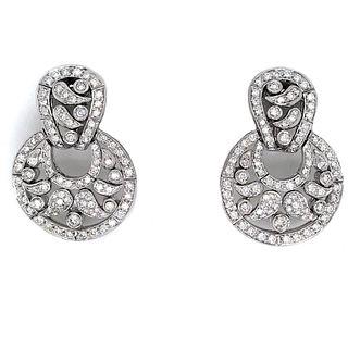 18K Andreoli Diamond Earrings