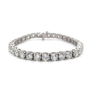 Platinum Tennis Bracelet