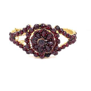Vermeil Victorian Garnet BraceletÊ